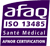 Certification AFAQ : ISO 13485