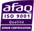 Certification AFAQ : ISO 9001